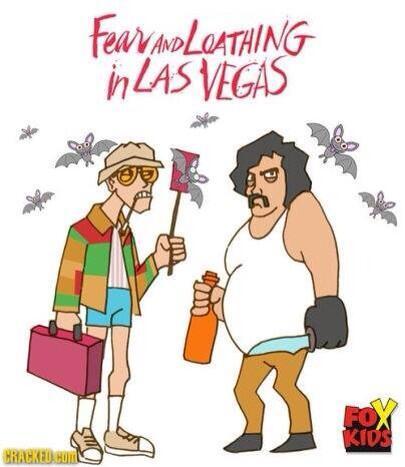 If #FearAndLoathingInLasVegas were a #cartoon #lmfao #BatCountry http://t.co/YY2N8TBJI2