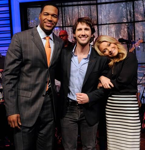 DON'T FORGET!!! Catch @joshgroban tomorrow on a new episode of Live With @KellyandMichael February 3rd! http://t.co/nLkXDF6PQu