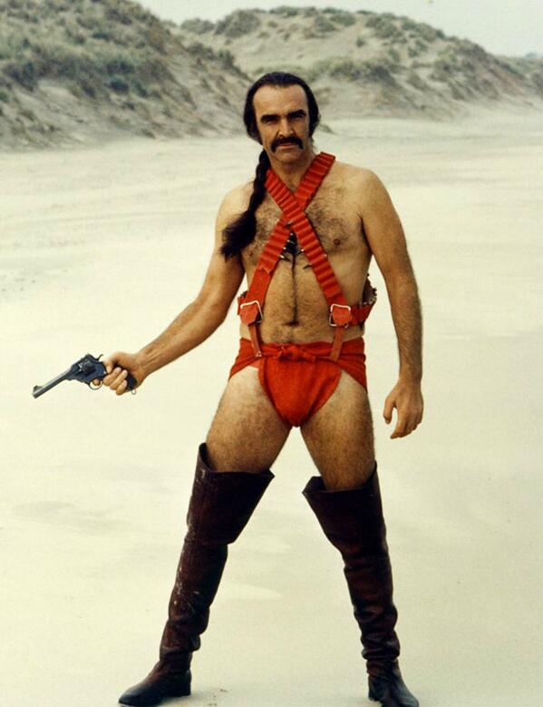"LOL! @margaretcho @SeleneLuna @ianharvie   look- TOTAL""DIRTY DIANA"" REALNESS!!!!   Sean Connery in ""Zardoz"", 1974 http://t.co/Yrdt5rWy0i"