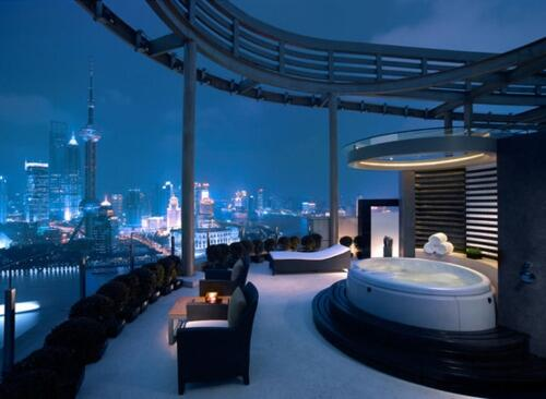 Luxury goals on twitter my penthouse view in shanghai for Piscine brighton