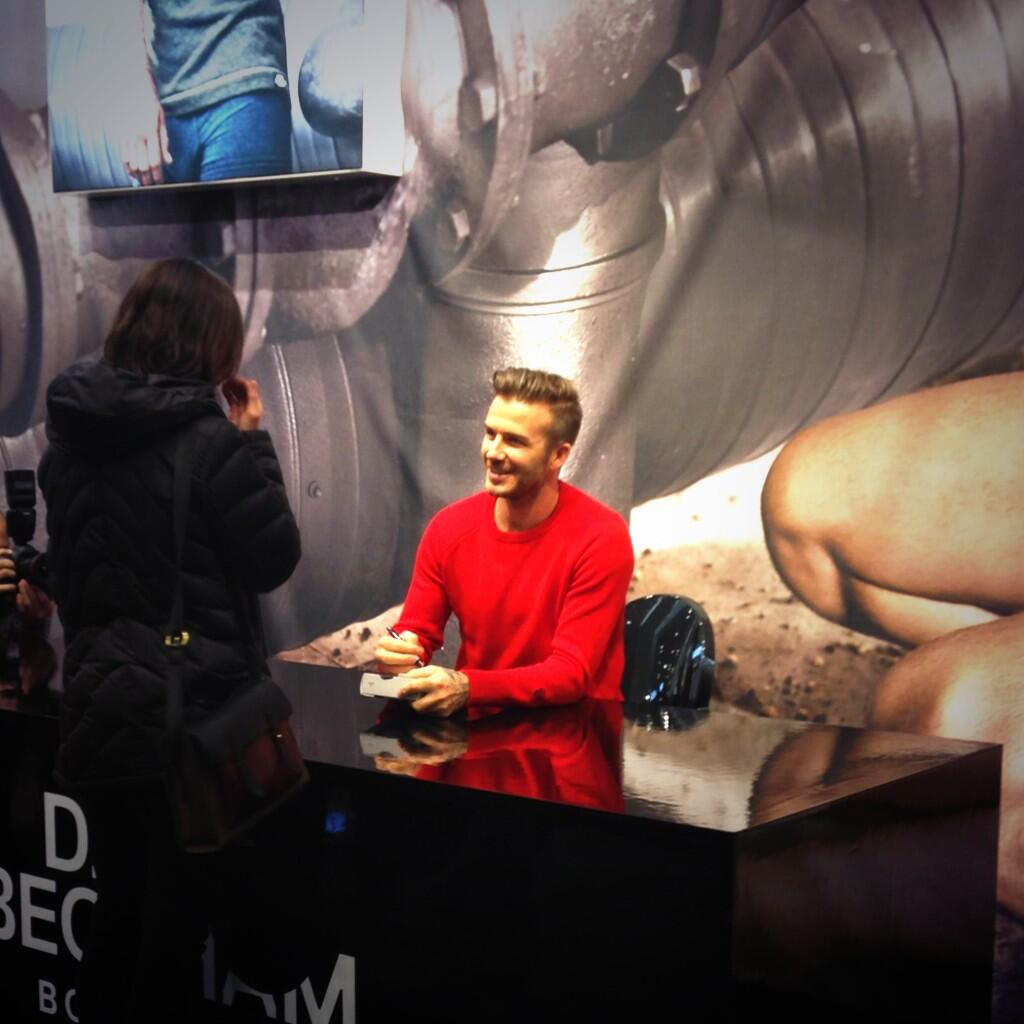 Twitter / hmusa: #Beckham's making dreams come ...