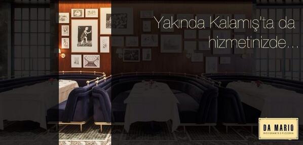 Bir İstanbul klasiği, Da Mario... http://t.co/11yXTMmOu2