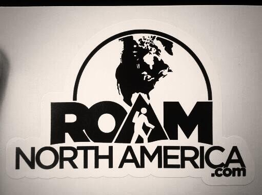 FREE Roam North America Sticke...