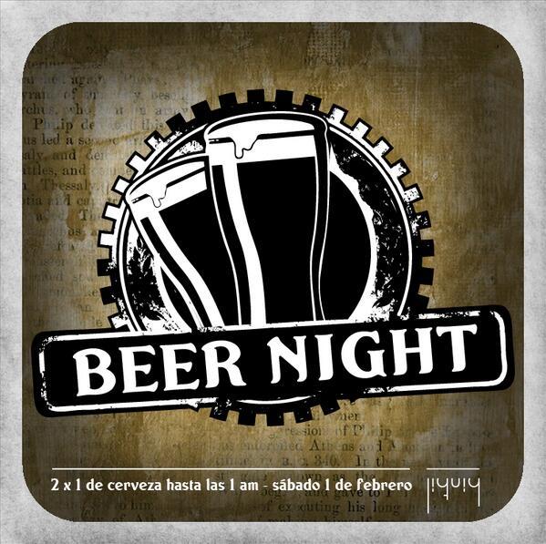¡Comenzamos el mes con mucha cerveza! http://t.co/s4sjEwuh97