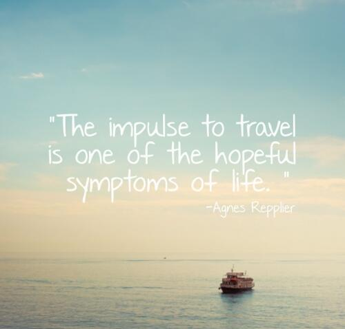 Be impulsive. #inspiration #travel #adventure #quotes http://t.co/ak3Ce2pL1Z