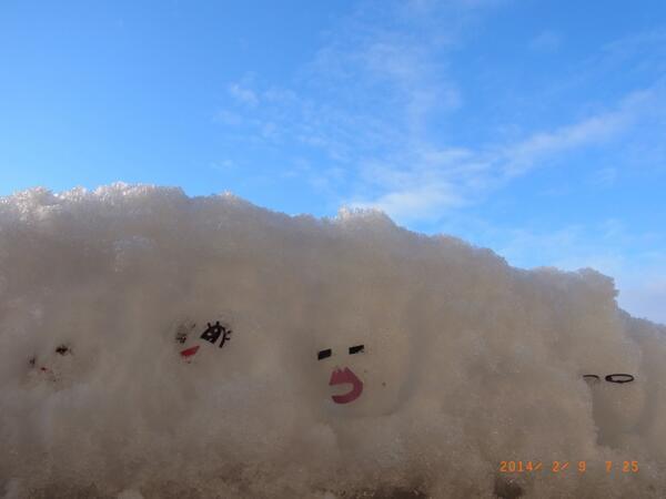 ☀(^^)ノ@nyannnya4 : @Akamahina @IcyNook @hulaalii @Sawako_33 @2buta @oota_13 ヽ(=^゚ω゚)^/オッハニャ~~ございます。完全に埋もれてますw 良い天気です。 http://t.co/Xj1BPUmijp