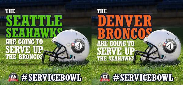 Thumbnail for Seattle Hosts 2014 Service Bowl