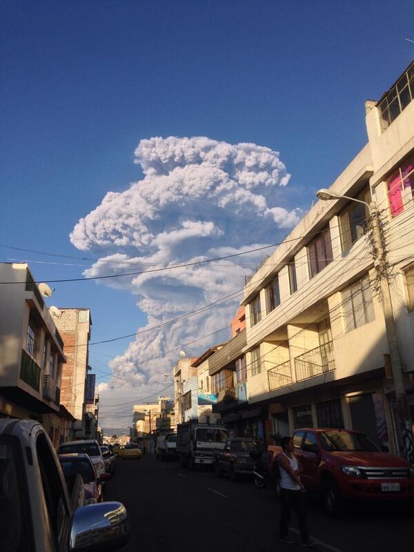 Ecuador incremento de la actividad del volcán Tungurahua. Situación de Emergencia  BfbKbciCAAApRQR