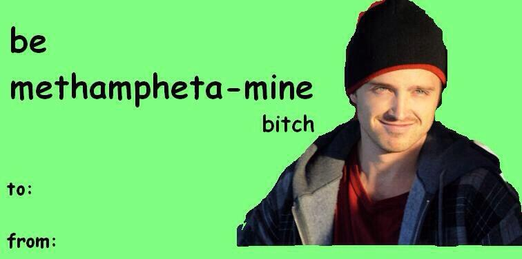 Breaking Bad Bitch on Twitter Valentines Day card options – Bad Valentines Day Card