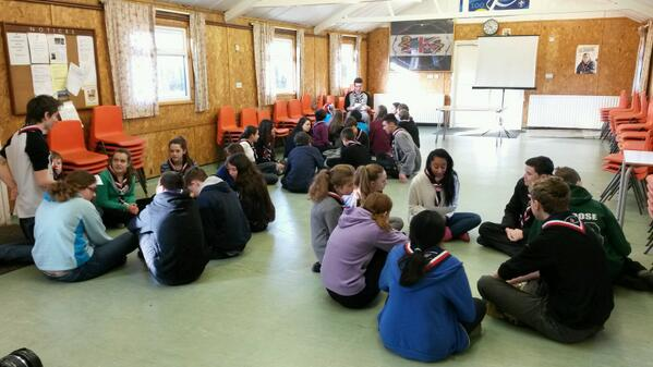 #gln patrols starting the planning for our #Japan2015 Join in Jamboree activities! http://t.co/o2gCuU9Zb8