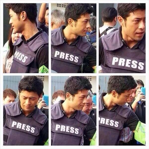 นักข่าวชาวญี่ปุ่น #หล่อจุง #เป็นอปป้าได้เลย http://t.co/vSJPisbLdI