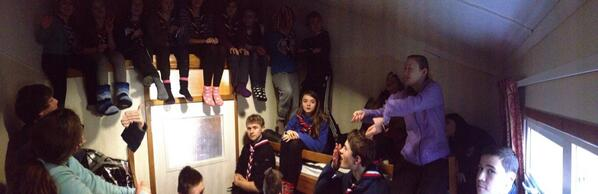 Panorama of the close quarters room! @GLNJamboree2015 #Japan2015 #gln http://t.co/zxCM6gmpwX