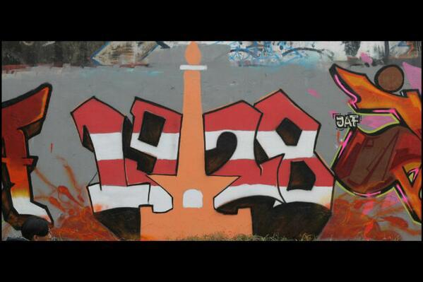 """@JKT_ART_FAM: Mural ""Monas1928"" @Jakelapa2 @DepokFamiglia #JHLP1 """
