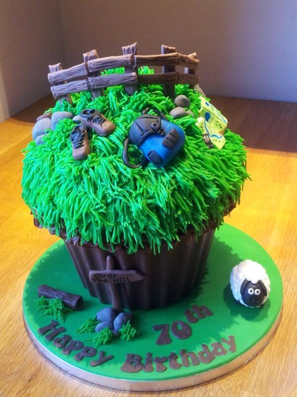 Walking Theme Giant #cupcake