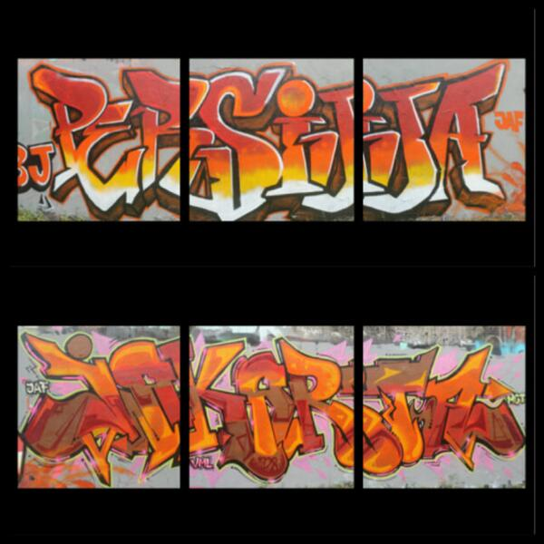 """Keren min:)RTt @JKT_ART_FAM: Persija ( @BOMBERJAKTEAM ) & Jakarta ( @MCT_Jakarta ) #JHLP1 """""""