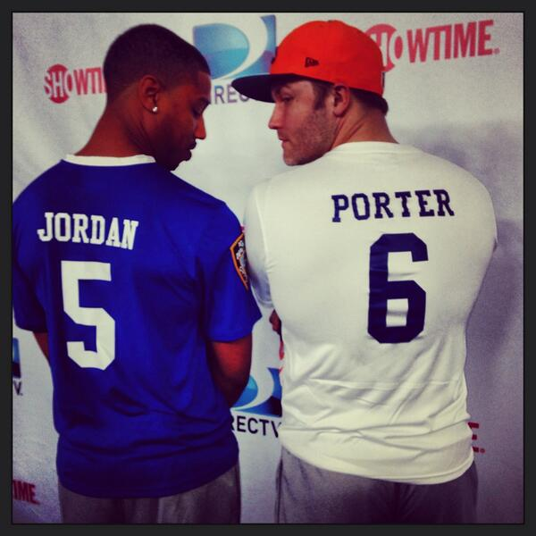 """""""@azizansari: So excited for the Super Bowl tonight: The Dillon Panthers vs. The East Dillon Lions! #AzizsFNLBowl2"""" http://t.co/yLNcS0vOLF"""