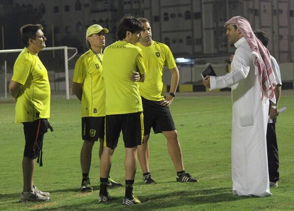 السليمان يبدأ مهامه وفريزيري يطبق البرنامج التدريبي الكامل+صور مباراة اولمبي الاتحاد