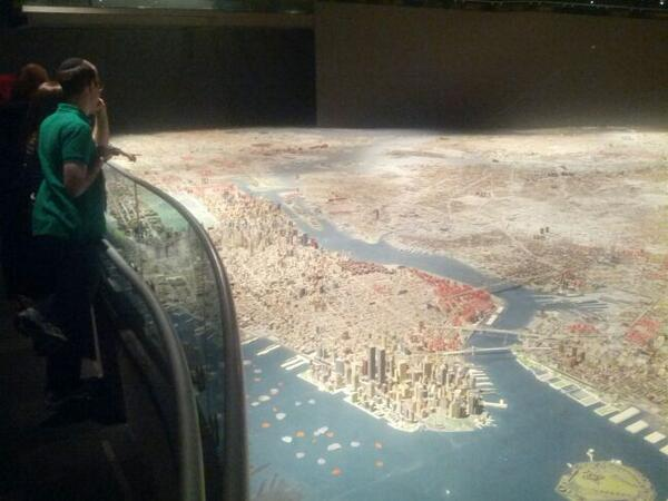 One of the best things in any museum in NYC. Every building in the city is in @queensmuseum! http://t.co/orDMD10tmw