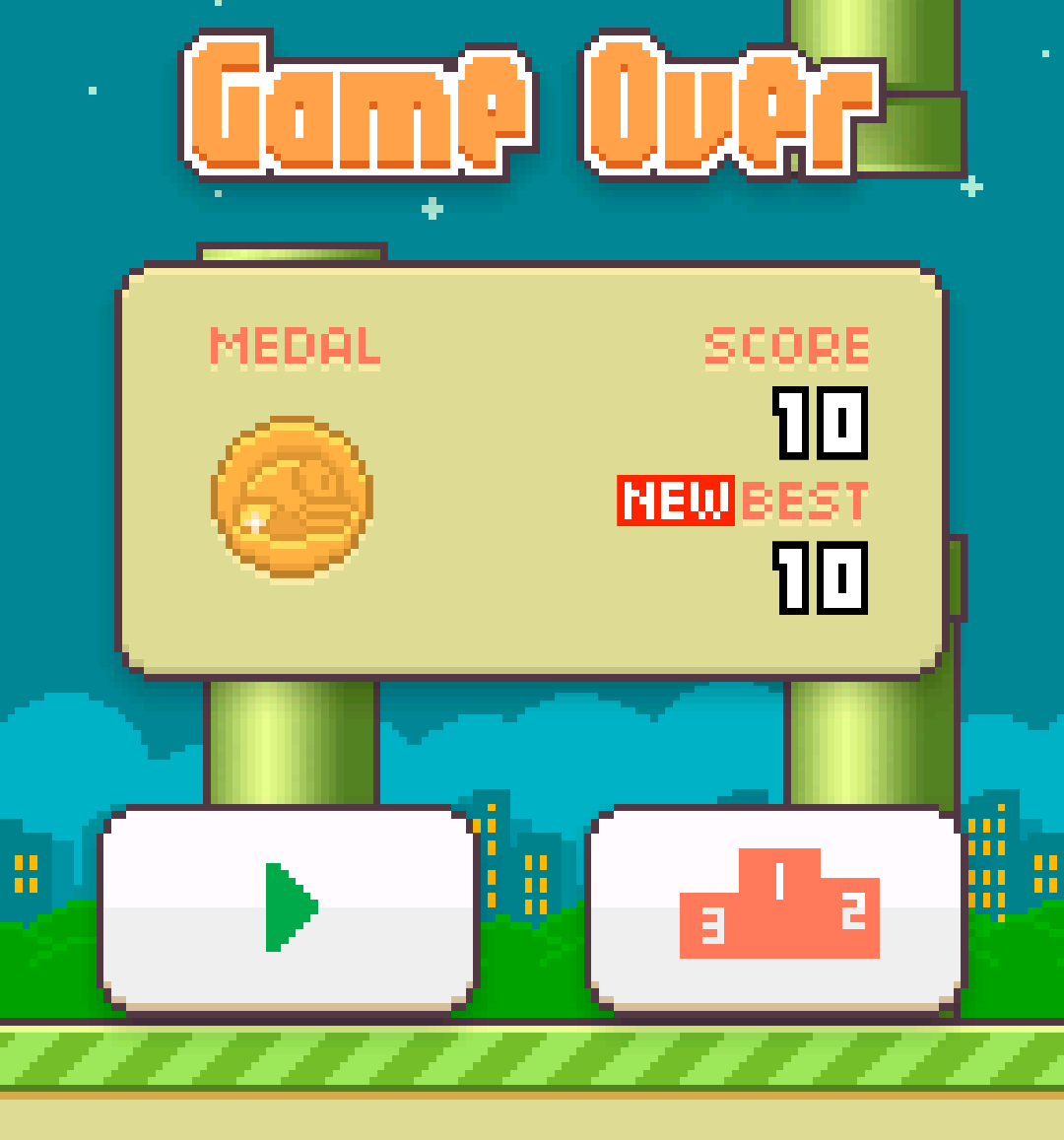 Twitter / echenze: I made it! Finally scored 10 ...