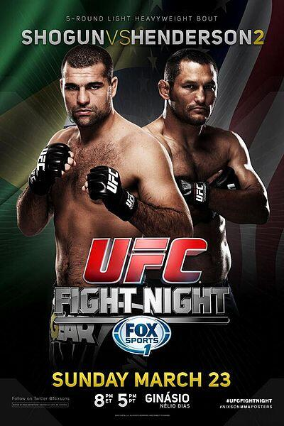 PIC: Official poster for UFC F...