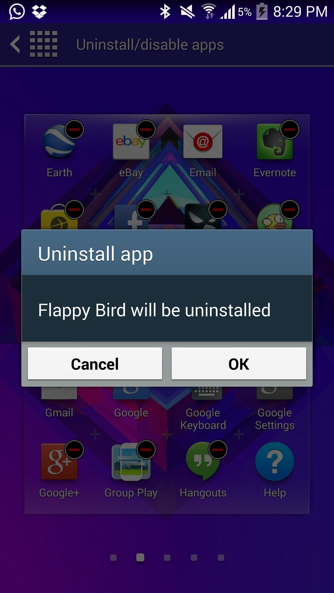 Twitter / Faryaab: And, I'm done with Flappy Bird! ...