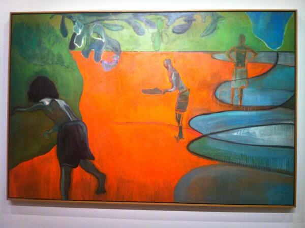 New Blog post-The Roaring Inside:Peter Doig Exhibit #Montreal #paintingisalivingbreathingthing http://t.co/7uQ1b3zZUh http://t.co/EDQHiYAXzD
