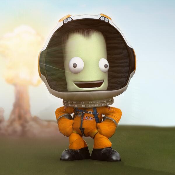kerbal in space suit - photo #13