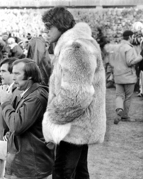 Joe Namath fur coat circa 1974. http://t.co/X8zz3u5goP