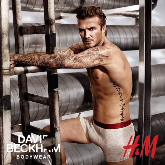 The best thing you'll see all night: http://t.co/16ZM31F7SC #BeckhamforHM http://t.co/Df5csLp18j