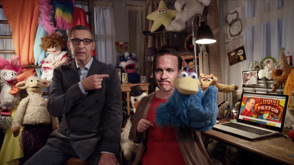 Our 2nd half Super Bowl ad will be #PeytonManning quitting his job at the end of the #BigGame - http://t.co/q2F7xPMkNK