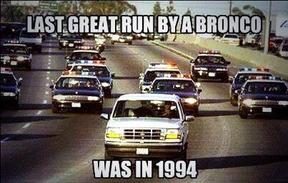 The last great run by a Bronco was in 1994. http://t.co/S7zXJve0fY