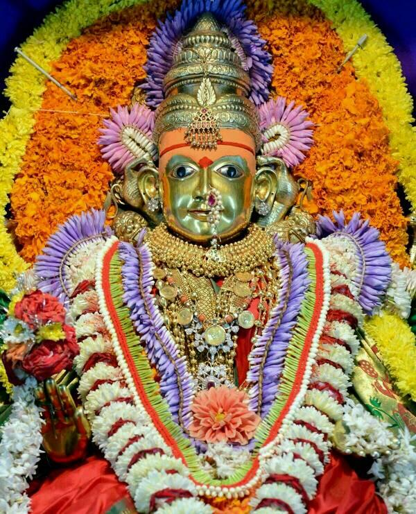 Image result for shantadurga goddess