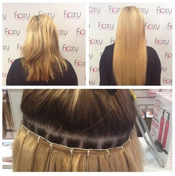 Foxy Hair Extensions On Twitter La Weave Fitting Done At Our