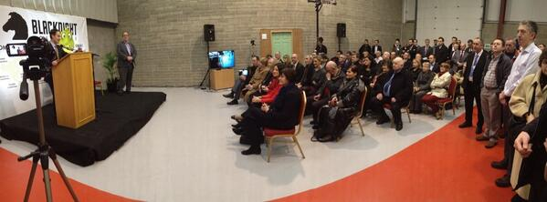 The room of the @blacknight data centre opening during @seansherlocktd's speech http://t.co/xKDPvHlMUl