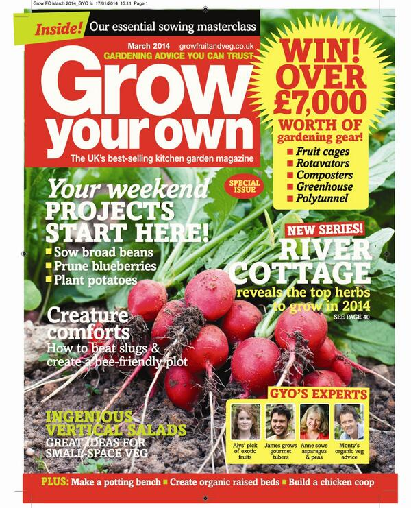 March issue out now! RT to be in with the chance of winning a great seed bundle! (T's&C's http://t.co/nL4FTHavKx) http://t.co/chwZshAUGv