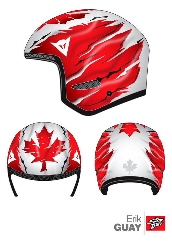 My new helmet for the Games! http://t.co/F9xSrZvUyS