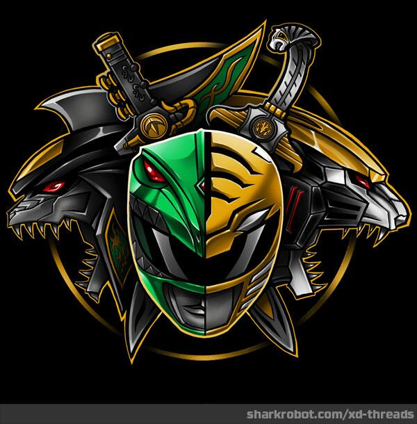 Shark Robot On Twitter New Shirt Power Of Green And White By
