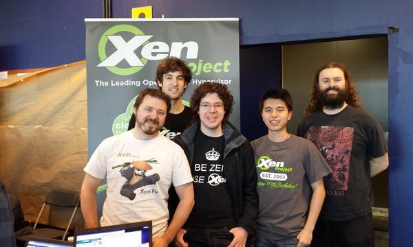 #FOSDEM 2014 is a wrap. Lots of smiles and flying pandas at #Xen booth. http://t.co/BXKzBNKbwL