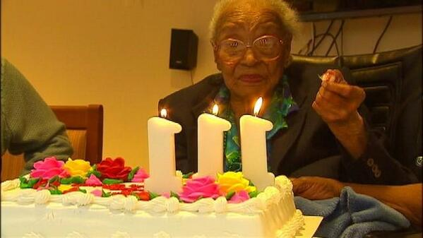 RT to wish a VERY Happy Birthday to DC resident Marie Buckner, who turned 111 today!  http://t.co/omAPyxgA43 http://t.co/n8ULhI26k7