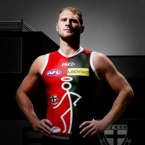 St Kilda Fc On Twitter Stickman Is Back Check Out Our New Look Pre Season Guernsey As Designed By A Fan Http T Co Jkcdxdtjm0 Http T Co Pl78nodian
