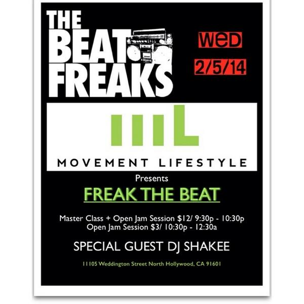 """Back by popular demand! """"Latch"""" at tomorrow's Freak the Beat!!  http://t.co/Y6UjJsdY3O Ck the flier for all the info! http://t.co/fgpLeNvyUh"""