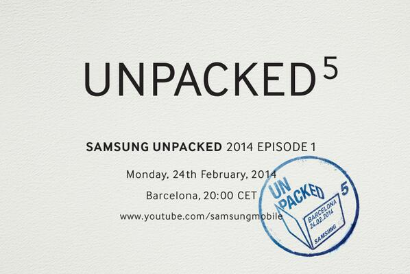 Samsung Unpacked Galaxy S5