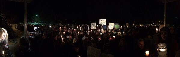 The amount of people that showed up tonight at the candle light vigil for my school was unbelievable... #saveMAA http://t.co/CQr5nGyTr0