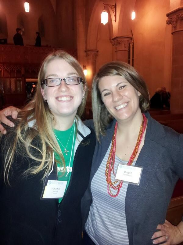 Great to meet @rachelheldevans tonight! #peoplewithcatallergiesunite #midwin14 http://t.co/RglydBG0Y9