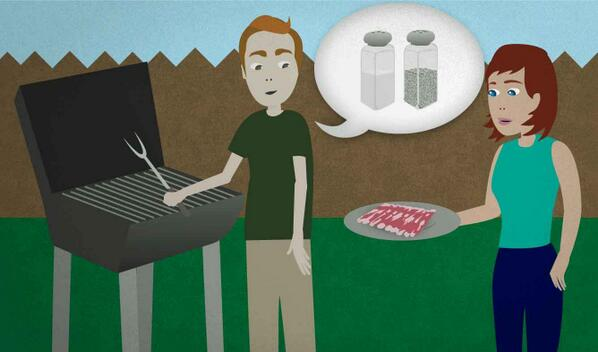 "Daily #English lesson: ""Can you sprinkle some salt and pepper on it?"" - http://t.co/SOAtrIjLfm http://t.co/0VrNibHvXD"