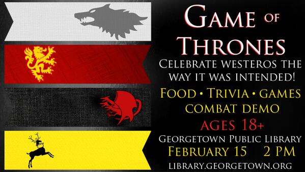 10. Game of Thrones fans? You wish you lived here. #FDOM #txst #JrlWeb #GeorgetownTxSpirit #GameOfThrones http://t.co/sC5NifWfWL