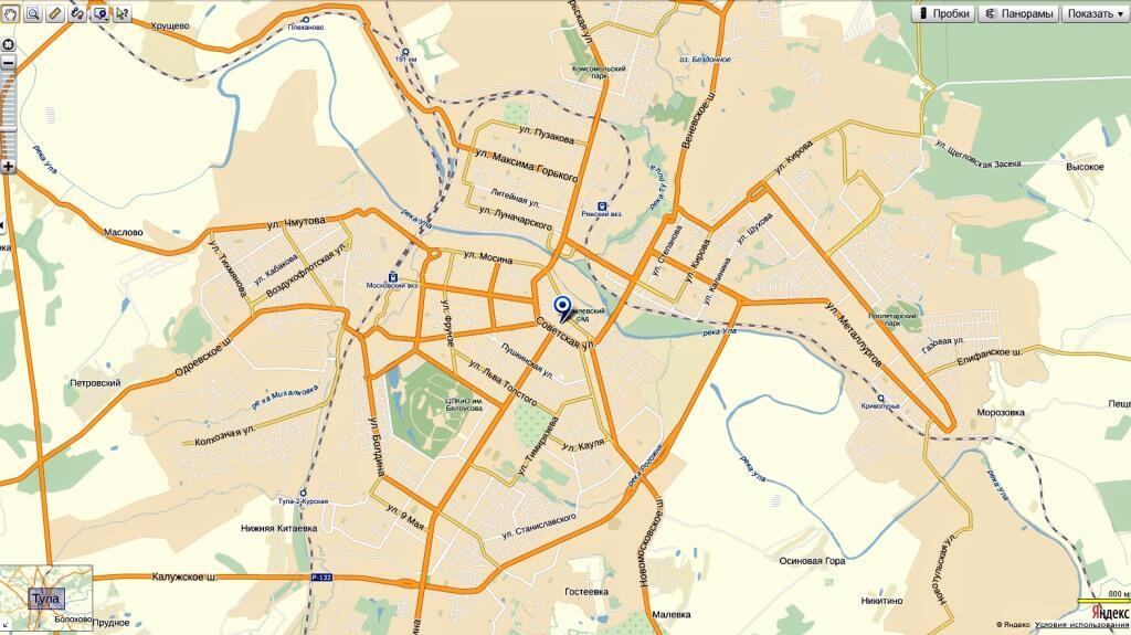 Карта тулы картинка, картинки дню