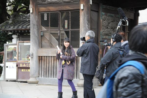 【番組放送予定】2月5日(水曜日)午前3時10分(4日深夜27時10分)から放送のテレビ朝日「ももクロchan」で、ももいろクローバーZの高城れにさん(紫)が葛飾区を訪れます。#momoclo #katsushika #葛飾 http://t.co/tNh9XCccMi