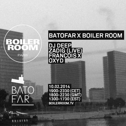 BIRTHDAY! KDO SURPRISE ! BOILER ROOM ON BOARD LE LUNDI 10/02 w/ DJ DEEP + ZADIG (LIVE) + FRANCOIS X + OXYD http://t.co/R2WYKGnRRg