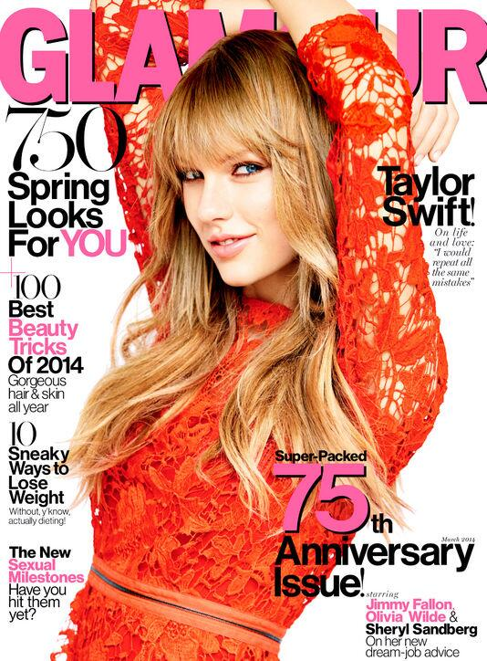 Our March cover star is... @taylorswift13! Get a sneak peek of her interview w/ @cindi_leive: http://t.co/8Snyg8tytK http://t.co/NcW5EDlKyo